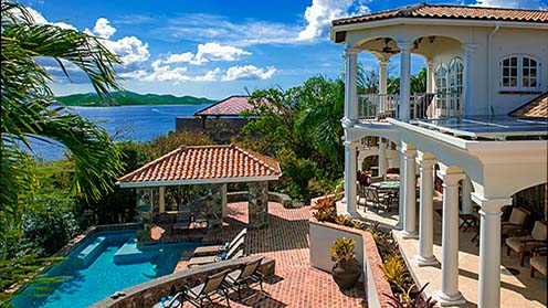 The Grand and Stately Architecture of Villa Las Brisas Caribe