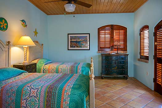 The Las Brisas Caribe Twin Suite (converts to a King)